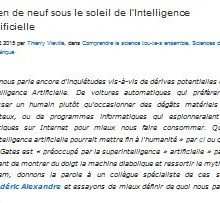 alexandre intelligence artificielle