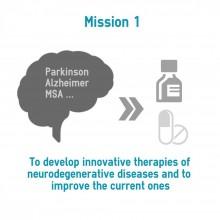therapies of neurodégénératives diseases